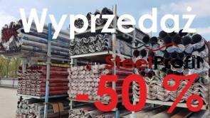 Rynny Metalowe -50% WIELKA WYPRZ!