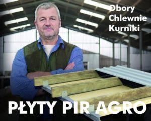 Płyty PIR AGRO rolnicze