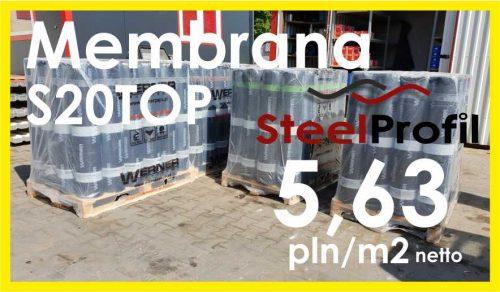Papa membrana podkładowa MEMBRAN TOP20S