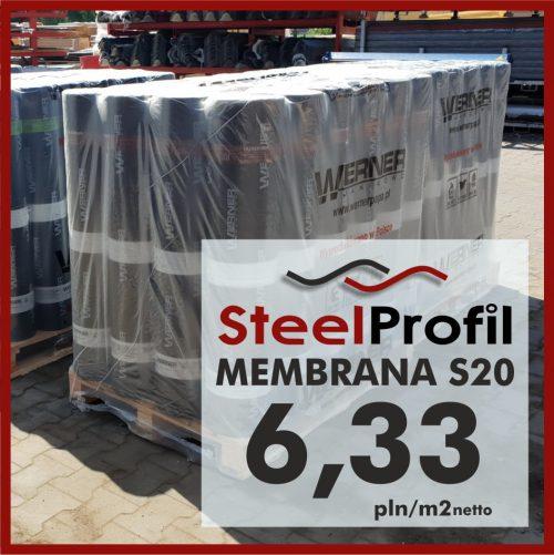 Tania Membrana podkładowa pod gont Membrana S20 TOP