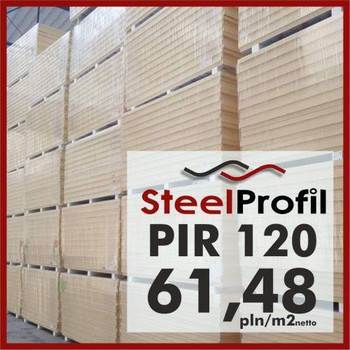 Plyta PIR 120 pianka poliuretanowa