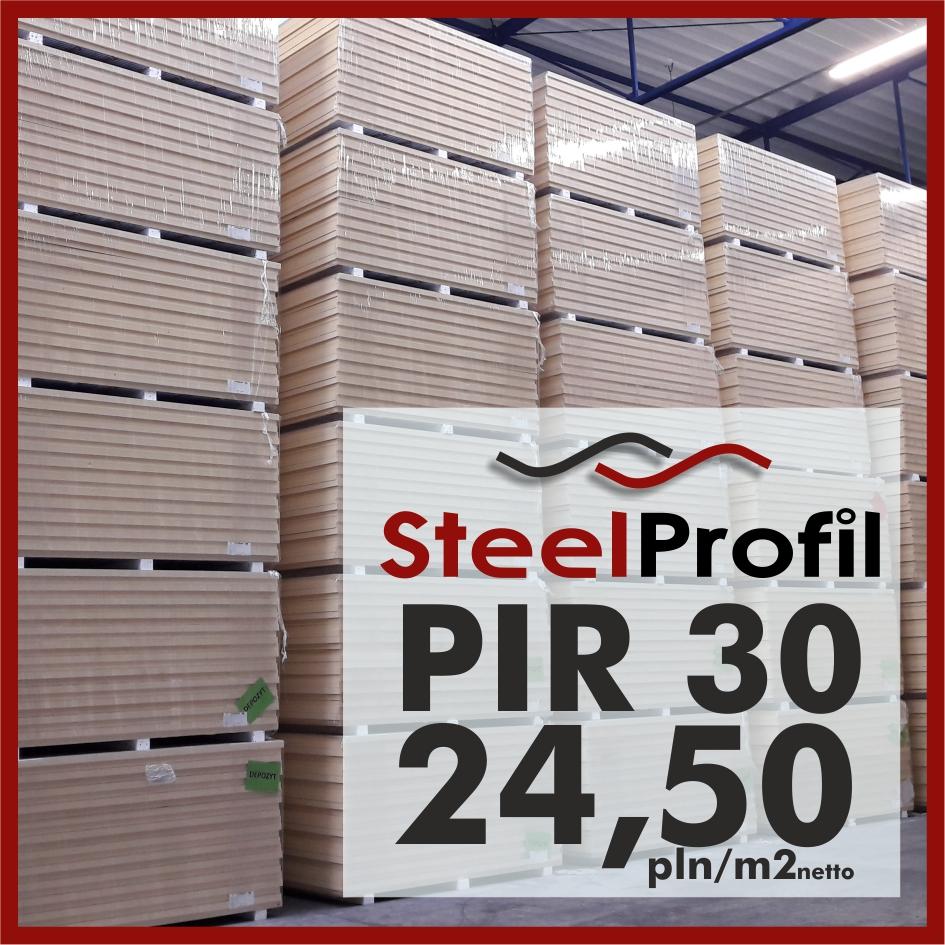 Plyty PIR 30 poliuretan