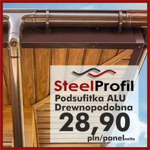 Podsufitka podbitka aluminiowa metal drewnopodobna lepsza niż pcv