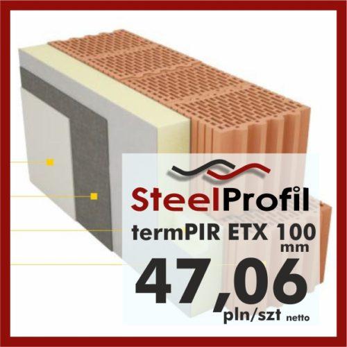 PIR ETICS termPIR ETX 100mm welon szklany 4706