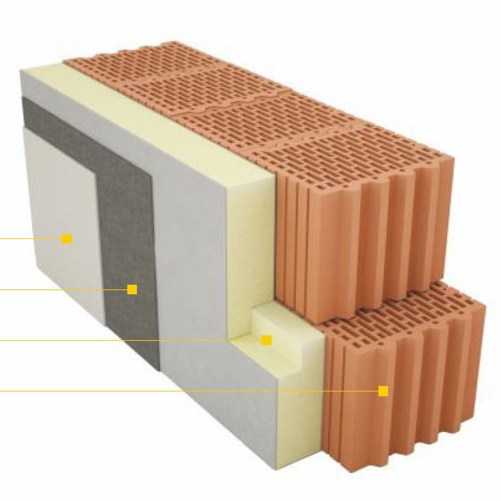 PIR ETICS welon szklany izolacja elewacji metodą lekką mokrą