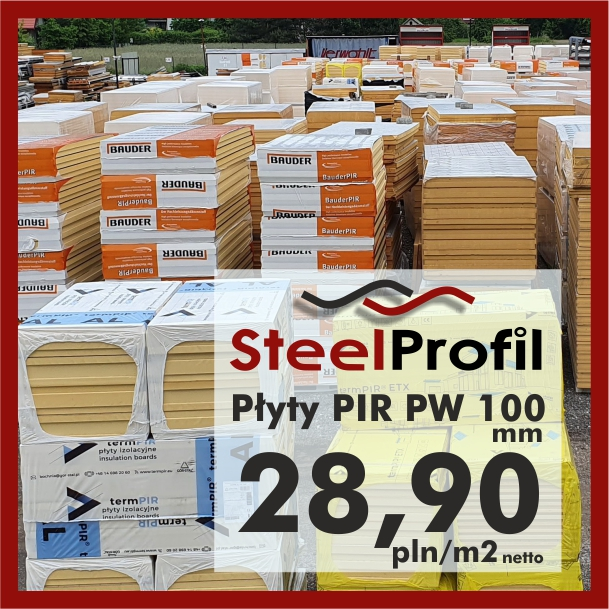 Plyty poliuretanowe PIR PW 100 pianka izolacyjna lepsza niż natryskowa