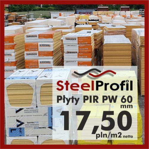 Płyty PIR PW pianka poliuretanowa dociepleniowa 60