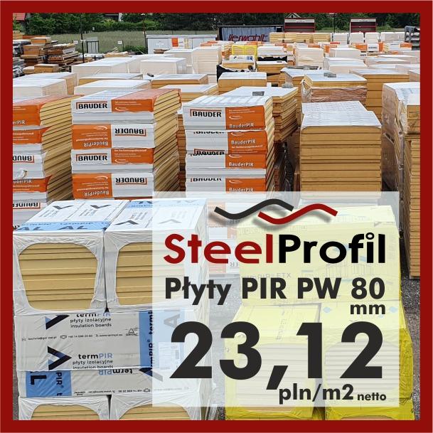Plyty poliuretanowe PIR PW 80 pianka izolacyjna lepsza niż natrysk pianą