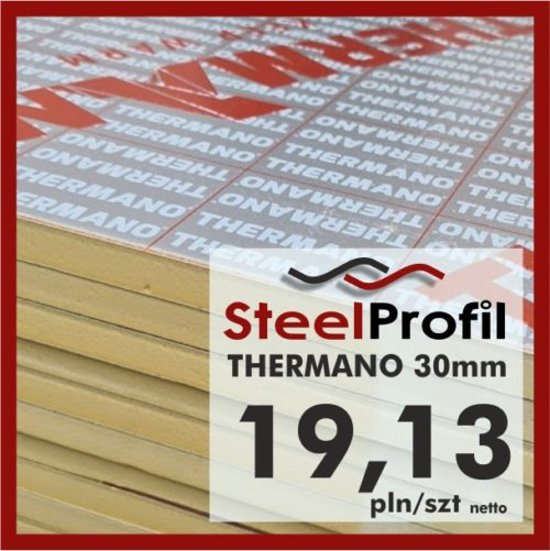 Plyty PIR Thermano termPIR 30mm TANI0