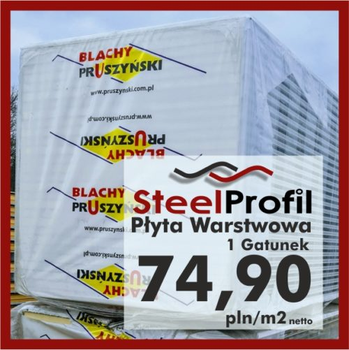 Płyta Warstwowa Pruszyński 1 gatunek PIR