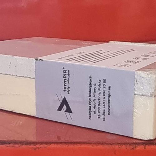 Płyty poliuretnowe z karton gipsem
